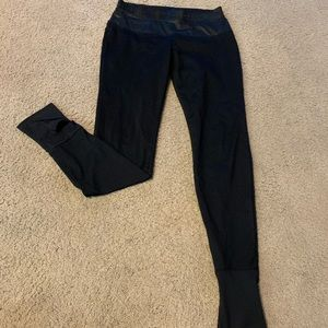 Black fabletics leggings